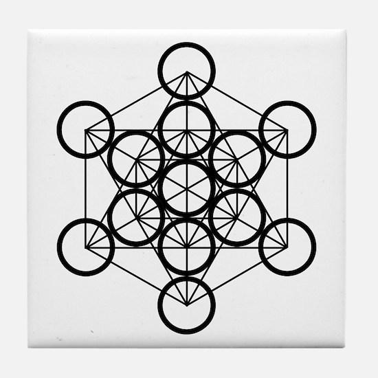 Metatron's Cube - Tile Coaster