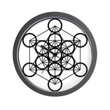 Metatron's Cube - Wall Clock