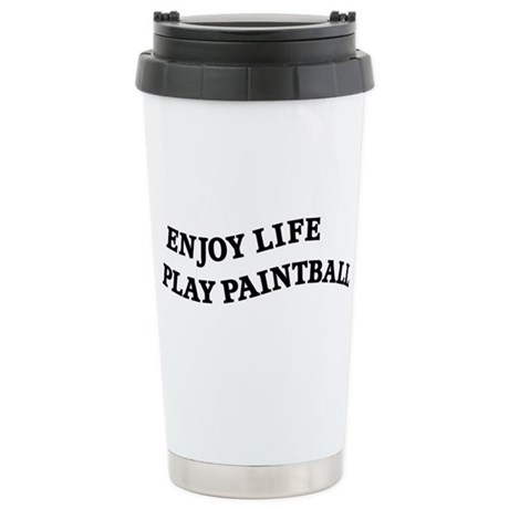 Enjoy Life Play Paintball Stainless Steel Travel M