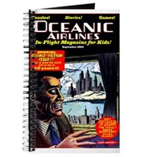 $9.99 Oceanic Air In-Flight Mag Journal