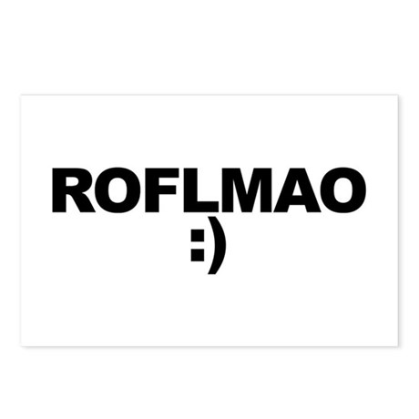 ROFLMAO Postcards (Package of 8)