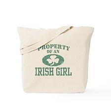 Property of an Irish Girl Tote Bag