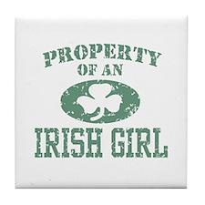 Property of an Irish Girl Tile Coaster