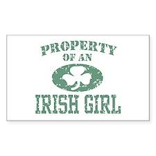 Property of an Irish Girl Decal