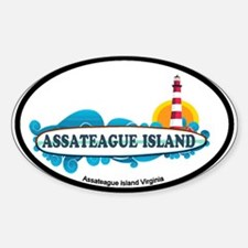 Assateague Island VA Sticker (Oval)