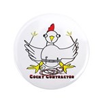 "Cocky Contractor 3.5"" Button (100 pack)"