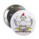 "Cocky Contractor 2.25"" Button (100 pack)"