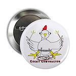 """Cocky Contractor 2.25"""" Button"""