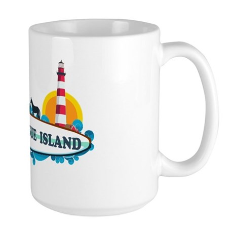 Chincoteague Island VA Large Mug