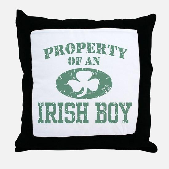 Property of an Irish Boy Throw Pillow