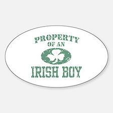 Property of an Irish Boy Decal