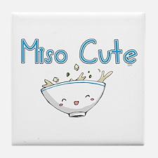 Miso Cute 2 Tile Coaster