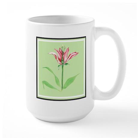 Botanical Illustration Green Large Mug