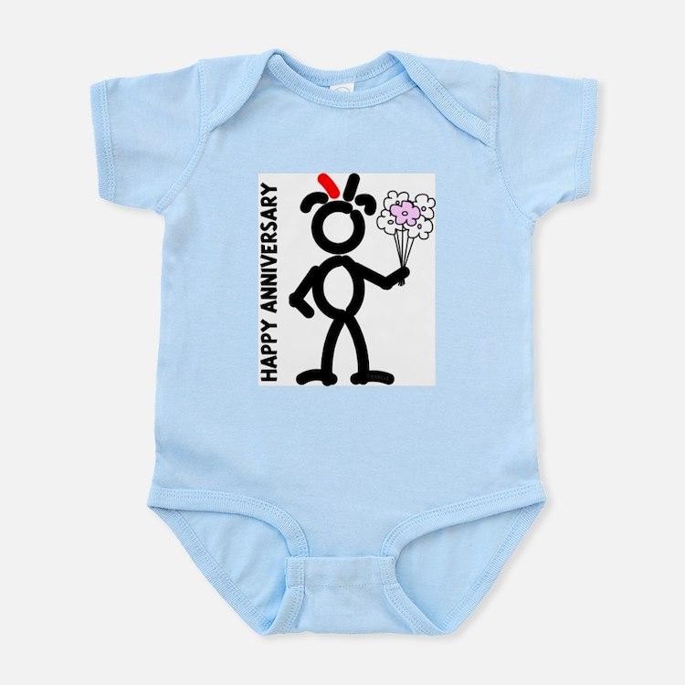 Red FLOGHA Infant Creeper