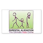Parental Alienation STICKER (Rectangle)
