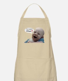 Abortion is NOT AN OPTION for BabyBigTalk Apron