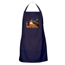 Jesus In A Box Apron (dark)