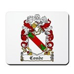 Conde Coat of Arms Mousepad