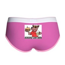 Beer & Burgers Women's Boy Brief