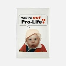 Abortion is NOT AN OPTION for BabyBigTalk Rectangl