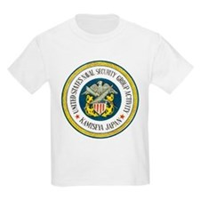 NAVAL SECURITY GROUP KAMISEYA Kids T-Shirt