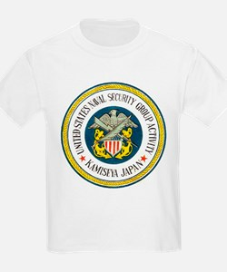 NAVAL SECURITY GROUP KAMISEYA Kids T-Shirt