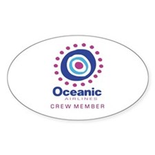 'Oceanic Airlines Crew' Decal