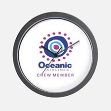 'Oceanic Airlines Crew' Wall Clock