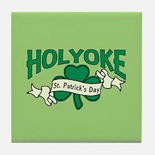 Holyoke St. Patrick's Day Tile Coaster