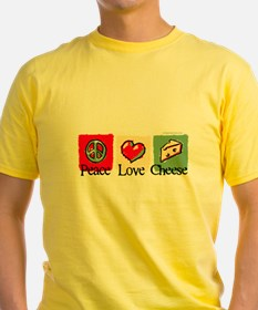 Peace, Love, Cheese T