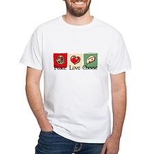 Peace, Love, Cheese Shirt