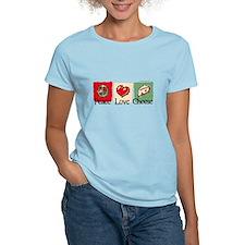 Peace, Love, Cheese T-Shirt