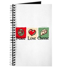 Peace, Love, Cheese Journal