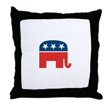 Cute Dick cheney Throw Pillow
