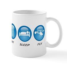 Eat Sleep Fly Small Mug