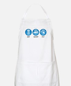 Eat Sleep Fly Apron