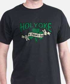 Retro Holyoke St. Patrick's Day T-Shirt