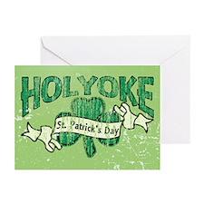 Retro Holyoke St. Patrick's Day Greeting Cards (Pk