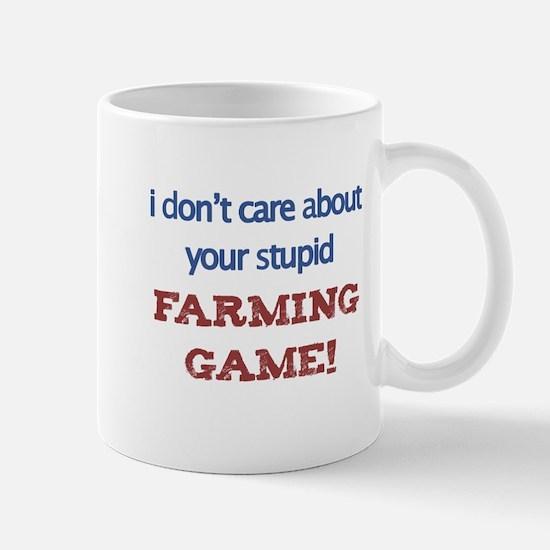 Funny Anti Farmville Mug