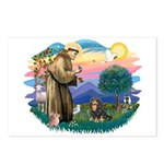 St Francis #2 / Cavalier (BT) Postcards (Package o