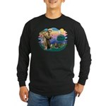 St Francis #2 / Cavalier (BT) Long Sleeve Dark T-S