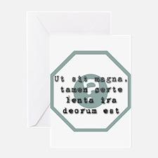 Ut sit magna... Greeting Card