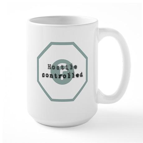 Hostile Controlled Large Mug