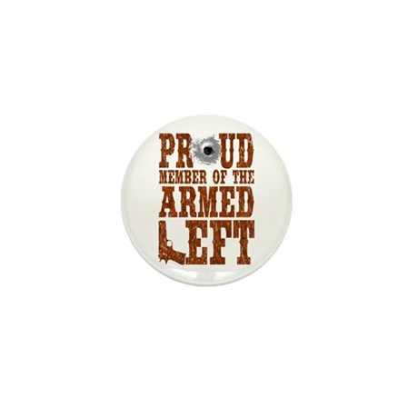 Armed Left Mini Button (10 pack)
