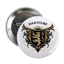 """Dad-To-Be 2.25"""" Button"""