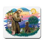 St Francis #2 / Poodle (ST-Ch) Mousepad