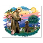 St Francis #2 / Poodle (ST-Ch) Small Poster