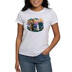 St Francis #2 / Poodle (STD W) Women's T-Shirt