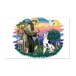 St Francis #2 / Great Dane (H) Mini Poster Print
