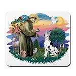 St Francis #2 / Great Dane (H) Mousepad